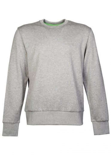 HUGO BOSS GREEN Sweatshirt in Grey  Black  White and Navy Blue SALBO 1 50256911