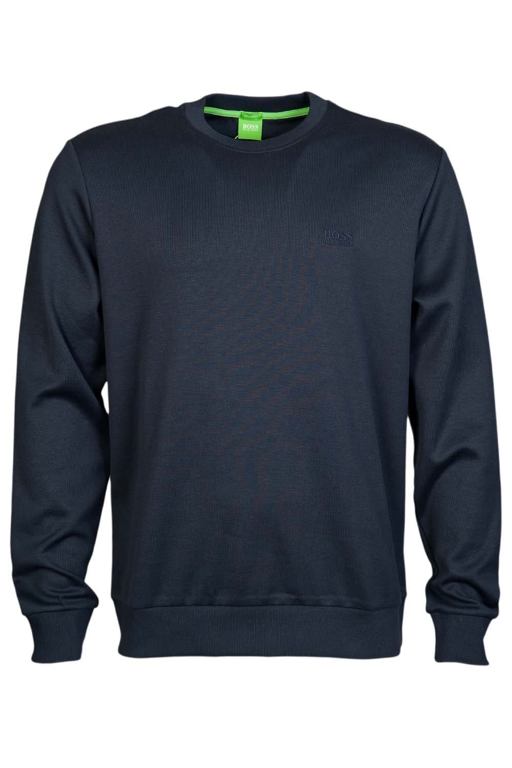 f1b59baa2 HUGO BOSS GREEN Sweatshirt in Grey Black White and Navy Blue SALBO 1  50256911
