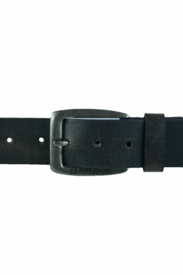 HUGO BOSS Leather Belt in Black and Brown JIMM 50205808
