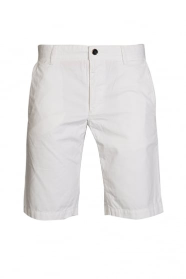 HUGO BOSS ORANGE Regular Fit Chino Shorts in White  Blue and range of colours SCHINO-SHORTS-D 50258928