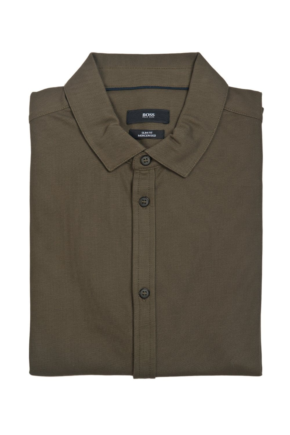 Hugo Boss Slim Fit Polo Shirt In Grey White And Khaki
