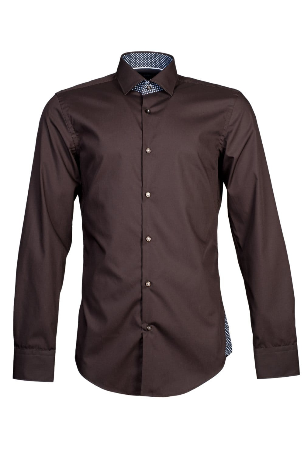 Hugo Boss Slim Fit Shirt In Black Blue Brown White And