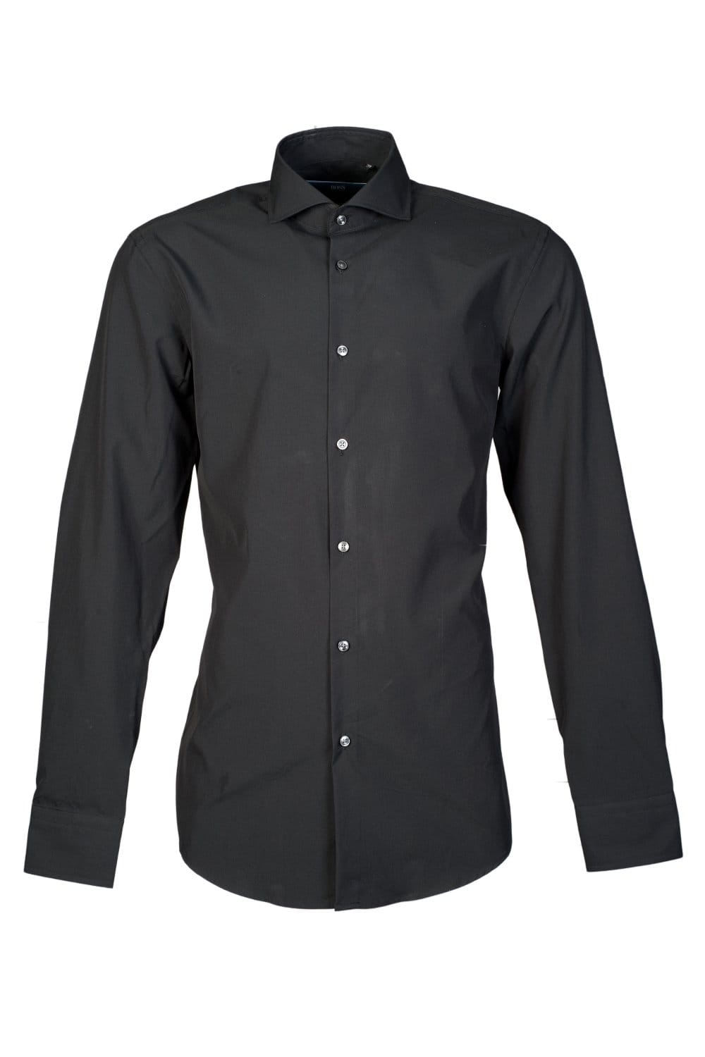 Hugo Boss Stretch Slim Fit Shirt In Black Jason 50251185