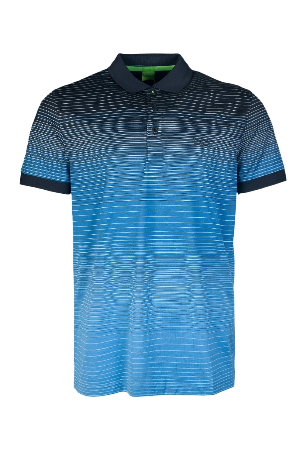 Hugo boss stripe polo t shirt paddy 3 50301944 for Hugo boss green polo shirt sale