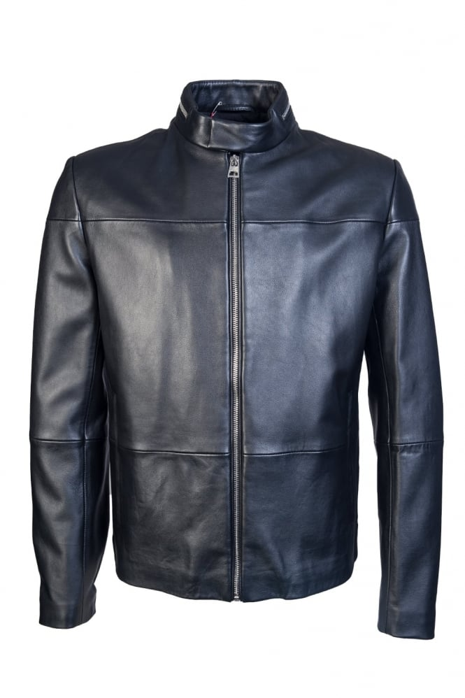 HUGO Leather Jacket LEFOX 50327715