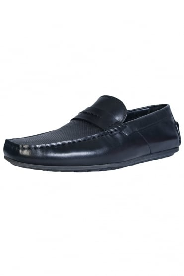 HUGO Loafer Shoes DANDY-MOCC-PLPR 50327228