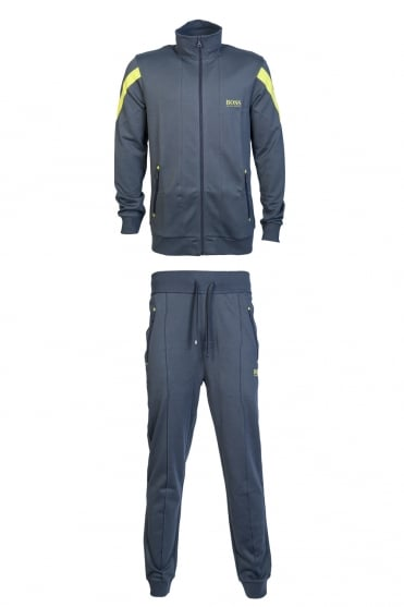 Hugp Boss:tracksuit JACKET ZIP 50370144/LONG PANT 50370138
