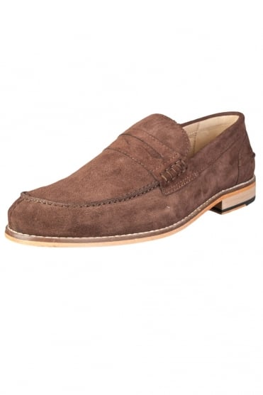 John White Suede Shoes NELSON-BROWN