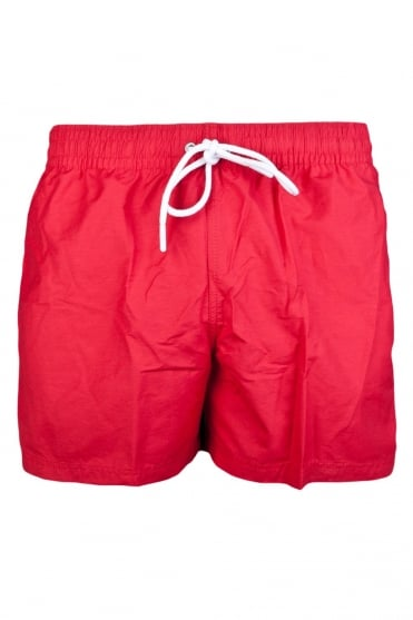 Lacoste Designer Swimming Short in Red MH5354-F6J