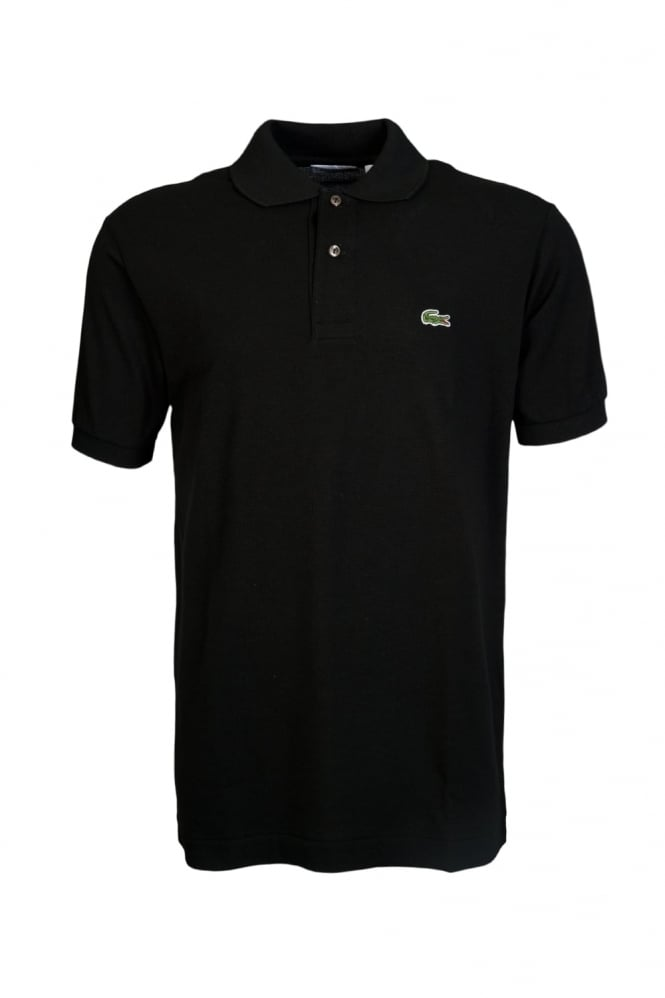 Regular Fit Polo Shirt in Black L1212-031