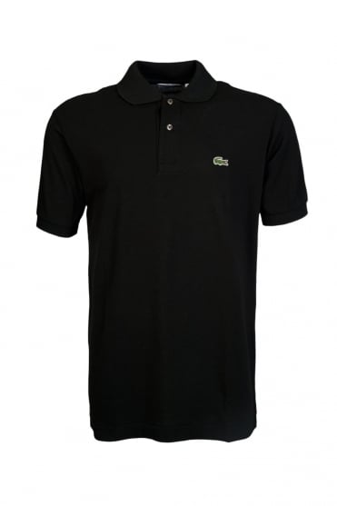 Lacoste Regular Fit Polo Shirt in Black L1212-031