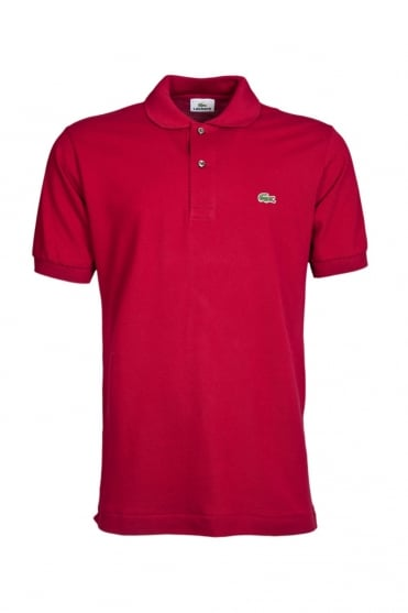 Lacoste Regular Fit Polo T-Shirt in Red L1212-476