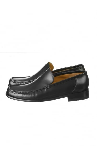 Loake Leather Shoes in Black TREVISO BLACK