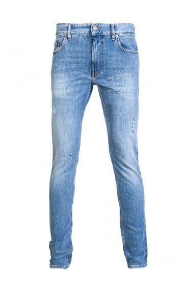 Moschino Denim Jeans Slim Fit MQ421 8D S2194 020W