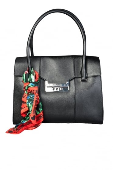 Moschino Ladies Elegant Designer Bag in Black JC4240PP0K-000