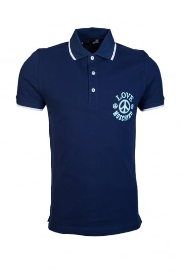 Moschino Polo T Shirt M8 304 03 E 1766 Y56