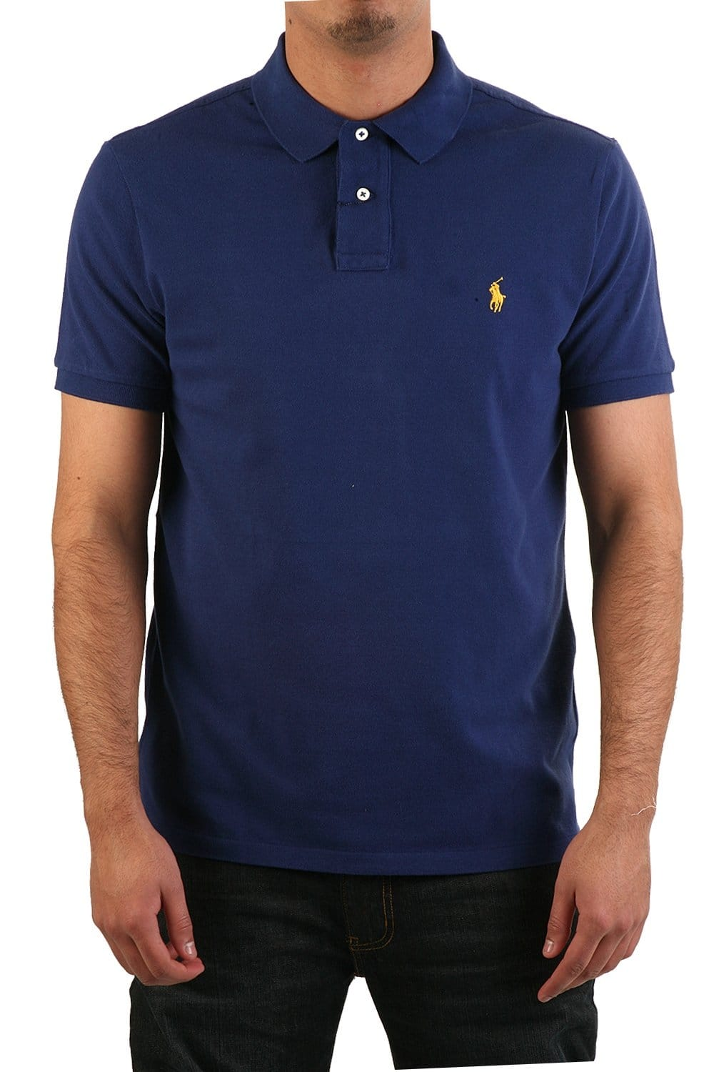 polo ralph lauren polo t shirt in royal blue a12ks13mc0004. Black Bedroom Furniture Sets. Home Design Ideas