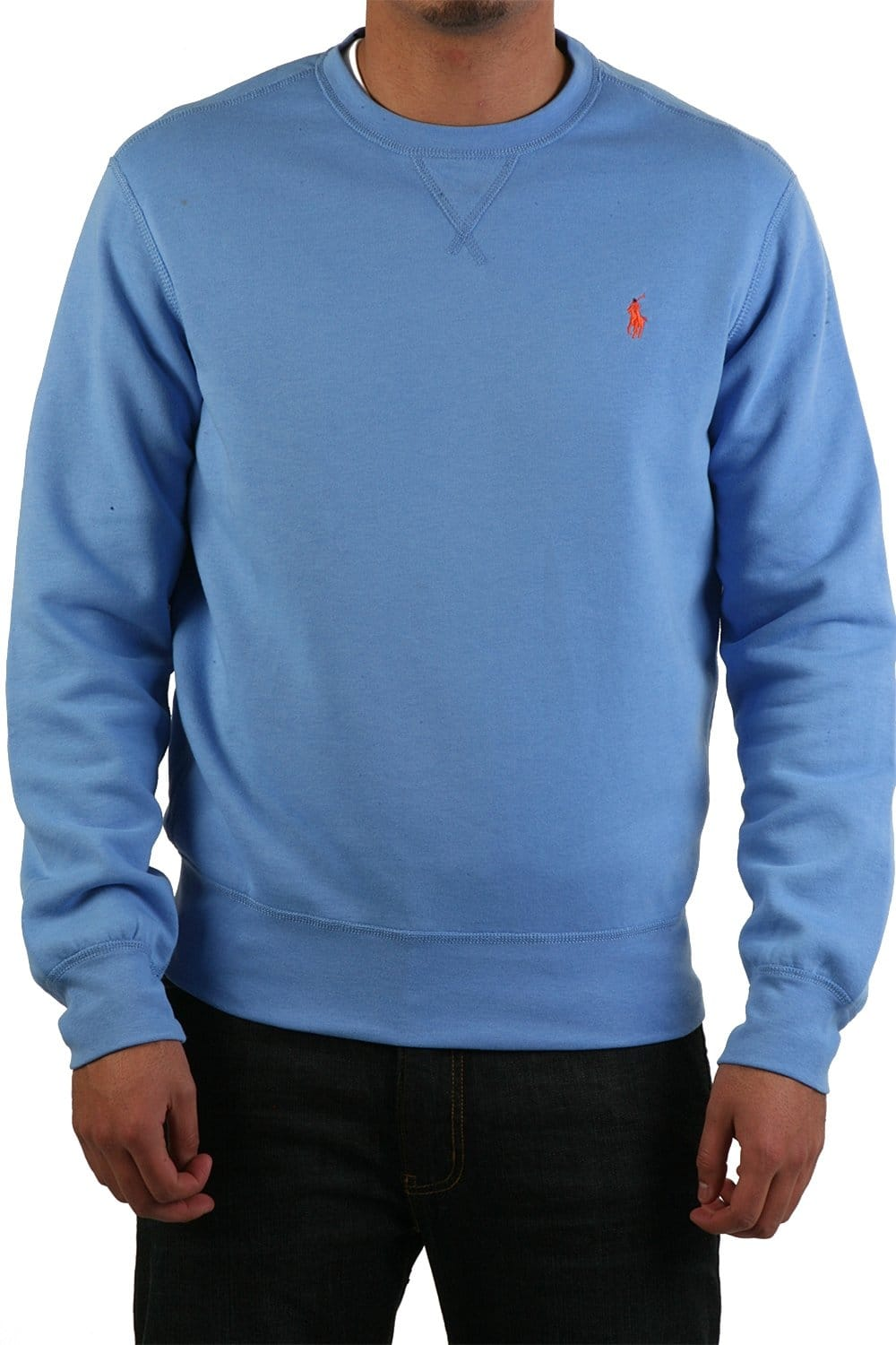 ralph lauren classic sweatshirt in blue a14kcc24b04jm a5420 polo ralph lauren from sage. Black Bedroom Furniture Sets. Home Design Ideas