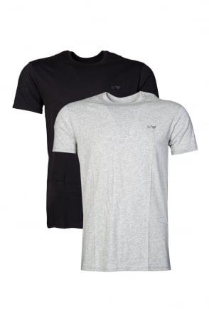 Armani AJ Two Pack Regular T-shirts in range of colours 06801RM