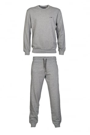 Armani Jeans Cotton Tracksuit in Grey  Black and Range of Colours 06M28RN/06P84RN