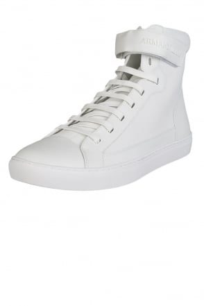 Armani Jeans High Top Trainers C6546 75