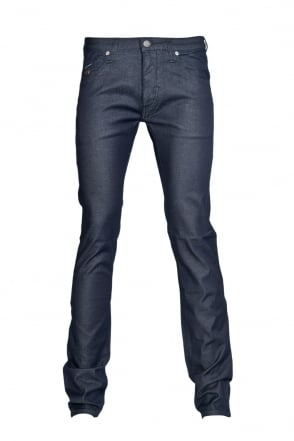 Armani Jeans J20 Extra Slim Fit Denim Jeans in Indigo Blue 06J20 2R