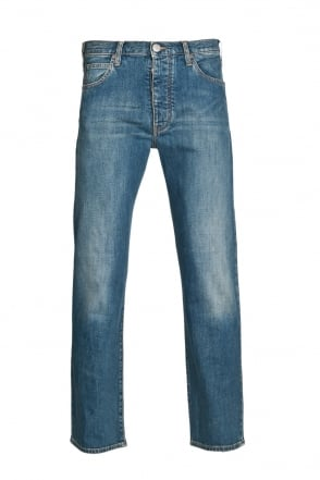 Armani Jeans J21 Regular Fit Denim Jeans in Indigo Blue 06J71 2U
