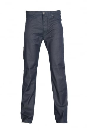 Armani Jeans J21 Stretch Denim Jeans in Indigo Blue 06J81 2R