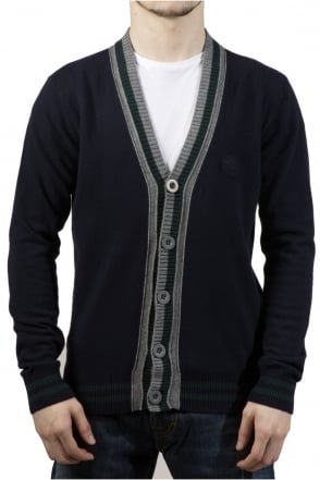 Armani Jeans Slim-fit Cardigan in Navy Blue S6W18VR-5C