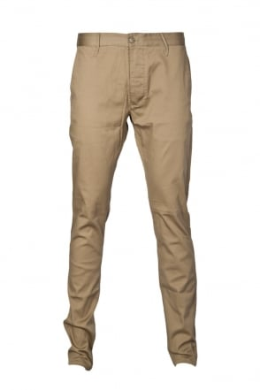 Armani Jeans Slim Fit Chinos in Navy Blue and Khaki Green A6P15JA