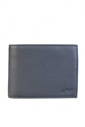Armani Jeans Trifold Wallet 11 Card holder slots with ID Flap and Coin Pocket 938544 CC992
