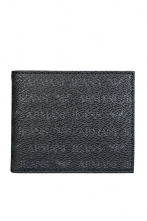 Armani Jeans Wallet Bifold with 8 Card Slots 06V2H J4