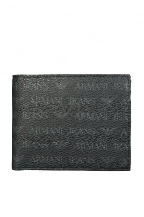 Armani Jeans Wallet Trifold with 12 Card Slots 06V21 J4