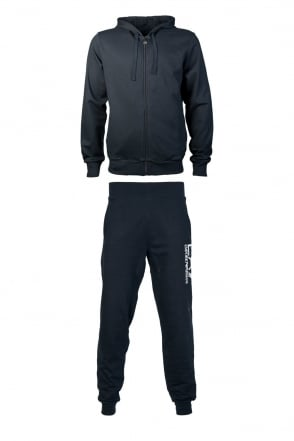 EA7 by Emporio Armani Tracksuit in Black  Grey and Blue 2760714A231
