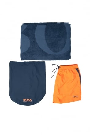 HUGO BOSS BLACK Beach Set in Blue BEACH SET 50286760