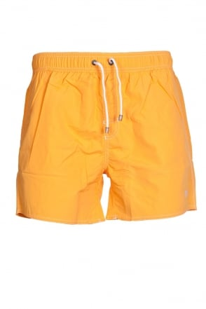 HUGO BOSS BLACK Quick-dry Swimming Shorts in Yellow  Orange and range of colours LOBSTER 50269486