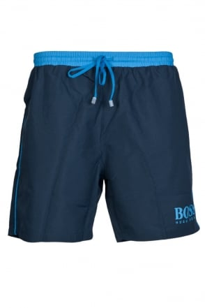HUGO BOSS BLACK Swimming Shorts in Pink  Yellow  Black  Blue  Green and Red STARFISH BM 50220844