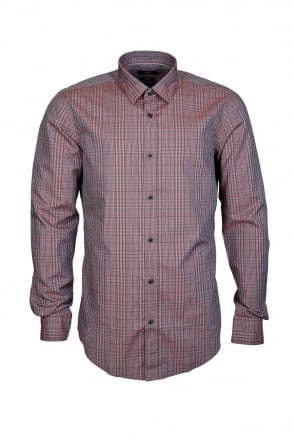 HUGO BOSS Check Shirt RONNI 50296006