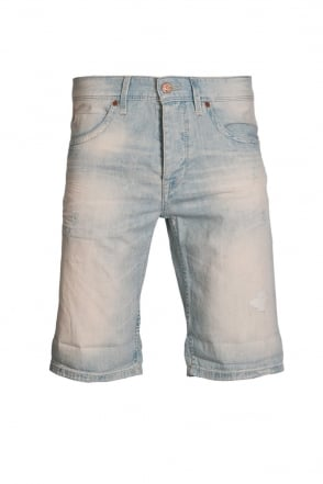 HUGO BOSS ORANGE Regular Fit Denim Shorts in Blue ORANGE24 50283027