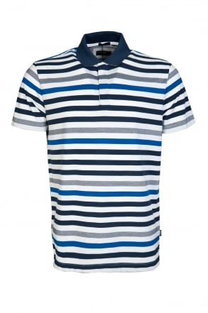 HUGO BOSS Polo Shirt Striped PALLAS 01 50308267