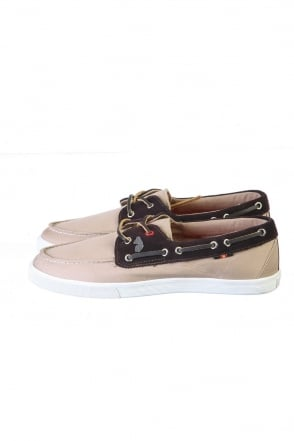 Luke 1977 Canvas Suede Boat Shoes in Range Of Colours M201305-DAWSON