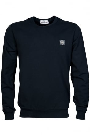 Stone Island Casual Long Sleeve Top in Navy Blue, Black and Grey 621562340