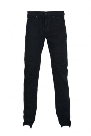 Stone Island Gabardine Jeans in Navy Blue  Black and Charcoal Grey 6115J4BXN