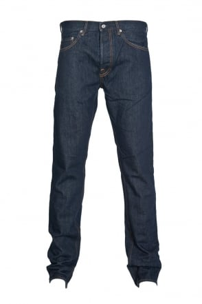 Stone Island Regular Fit Denim Jeans in Indigo Blue  6115J4BI1