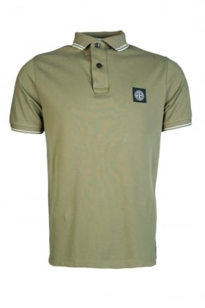 Stone Island Short Sleeve Polo Shirt 101522S18