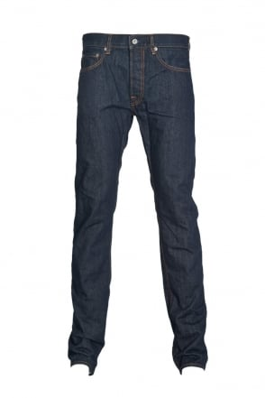 Stone Island Slim Fit Denim Jeans in Indigo Blue 6115J1BI1