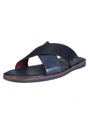 Ted Baker Leather Slip On Flip Flops PUNXEL 16000