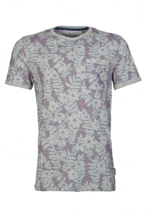 Ted Baker Printed T-shirt TS6M/GB57/ ROOTZ 67