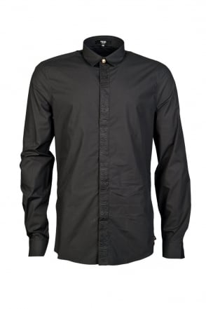 Versus Versace Elegant Shirt in Black BU20115BT10183-B1008