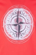 Stone Island Casual Designer T-shirt in Red  Orange and range of colours 621520083